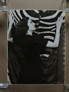 Barbara Stanwyck original glamour fashion portrait photo 1930's Warner Brothers
