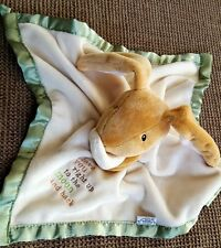 """Kids Preferred Guess How Much I Love You Baby Lovey Security Blanket Bunny 14"""""""