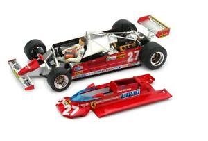 Brumm  ferrari 126CK  Mónaco 27 Gilles Villeneuve 1981 1:43  P003