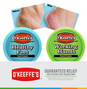 O'Keeffe's Hand Cream & Foot Cream Dry Cracked Skin