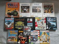 Game Bundle for Amiga / Tested, Complete and Nice Condition. Kick Off2, F29, F16