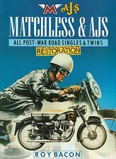 Matchless & AJS All Post-War Singles & Twins Restoration BY ROY BACON