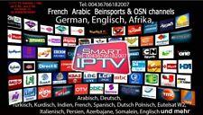 Arabic und International Smart IPTV Sender