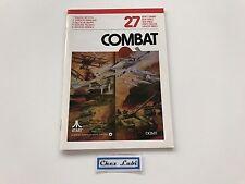 Notice - Combat - Atari 2600 - PAL EUR
