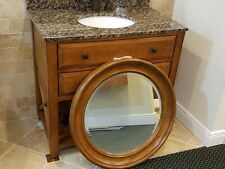 SAGEHILL DESIGNS CASUAL ESSENCE VANITY WITH GRANITE TOP, MIRROR AND FAUCET