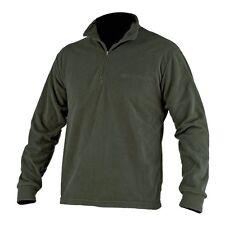Beretta Light Polar Fleece Half Zip - Green Brown Black