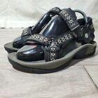 TEVA Stratum 6430 Women's Nylon Hiking Water Sports Sandals Size 7 Black Gray