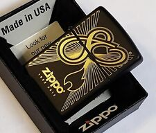 Zippo Lighter 80th Anniversary 2012 Black Matte With Gold Numbered 179/300