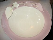 Hand Thrown Pottery Bowl (Signed) (9 1/2