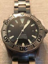 Omega Seamaster Professional Automatic Titanium Chronometer 300m/1000ft Watch
