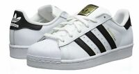 adidas Originals Women's Superstar Sneaker  White/Black/White C77153