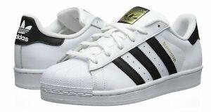 adidas Originals Women's Superstar Sneaker  White/Black/White C77153