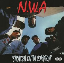 NWA 'Straight Outta Compton'180gram Vinyl LP & Download NEW FACTORY SEALED