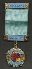 Australia Masonic Medal 50 Years Service Lovely Condition