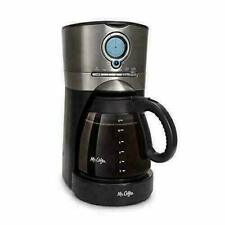 Mr. Coffee 12-Cup Programmable Automatic Coffee Maker - Stainless Steel/Black