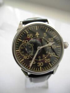 Marriage Custom Skeleton watch, converted from Vintage pocket 3602, Soviet/USSR