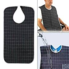 Large Waterproof Adult Mealtime Bib Clothes Clothing Protector Dining Cook