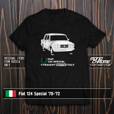 T-shirt Fiat 124 Special '70-'72