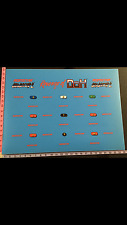 Arkanoid 2 Revenge Of Doh Romstar CPO Taito Original Sticker