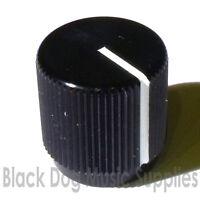 Black aluminium guitar / amplifier / pedal knob tone or volume