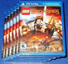 Lot of 6 LEGO The Lord of the Rings PlayStation Vita Factory Sealed! Free Ship!
