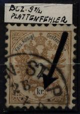 Echte gestempelte Briefmarken aus Österreich (1867-1918) - Ungarn als Einzelmarke
