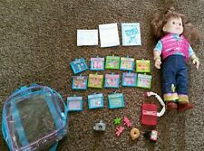 """New listing Playmates Toys 2000 Amazing Maddie Interactive Talking Doll 18"""" lot, accessories"""
