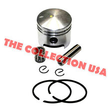 49CC PISTON KIT 44MM, WRIST PIN 10MM FOR KID STAND UP GAS SCOOTERS, POCKET BIKE
