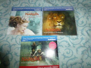 AUDIO CDs - THE CHRONICLES OF NARNIA: PRINCE CASPIAN - 3 CDs