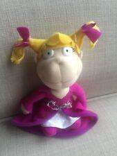 "Rugrats Angelica Plush Doll 1998 Mattel Viacom 5"""