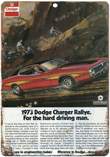"""Dodge Charger 10"""" x 7"""" Reproduction Metal Sign"""
