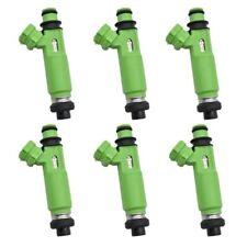 6 FUEL INJECTORS for MITSUBISHI TRITON MK 6G72 3.0L V6 98-06 DENSO Challenger PA