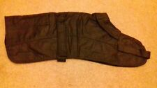 "17"" Whippet Dog Coat. Wax. Lined. Waterproof. New. Bargain."