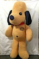 VTG 1971 Animal Fair Henry The Dog Large Stuffed Animal Plush 24 Inch USA Patch