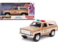 Stranger Things HOPPER'S CHEVY BLAZER Diecast 1:32 Jada Metals Hollywood Rides