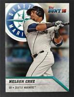 2016 Topps Bunt #119 Nelson Cruz - NM-MT