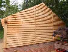 Western Red Cedar Feather Edge Cladding. From only £2.50 Per Metre