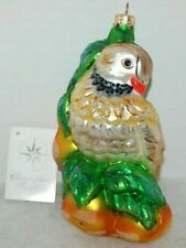 Radko From My True Love Christmas Ornament 99-304-0 Partridge In Pear Tree