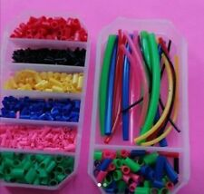 Assorted pole float fishing rubbers boxed job lot 10 box's 5 of each