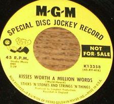 STICKS n STONES and STRINGS n THINGS 45 RECORD Hello Blues DJ 45 RECORD MGM