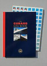 CUNARD LOG BOOK Exclusive Passenger Logbook QE2 QM2 QUEEN VICTORIA out of print