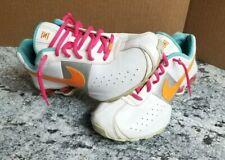 Nike Shox sz 6.5Y US White Pink Aqua 309711-180 EUC 39 EU Womens 8 Nice