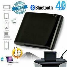 30pin Bluetooth Adapter 4.1 A2DP Audio Musik Empfaenger Sounddock Neu