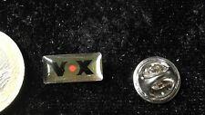 Media Radio TV pin badge logo VOX
