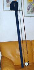 New listing Vintage 'Actionrod' Custom Made 9' 2pc Fiberglass Fly Fishing Rod w Martin reel