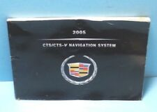 05 2005 Cadillac CTS/CTS-V Navigation System owners manual
