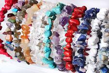 Wholesale 12pcs lots Jewelry GEMSTONE Crystal Chip Beaded Stretch BRACELETS