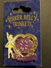 Disney Tinkerbell's Trinkets Birthstone Gem Collection 2013 February Pin