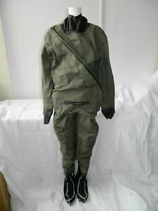 MK1 Coverall Immersion Suit Size 9, Ch 107-115cm, Ht 181-189cm, Boot 9-11 [P152]