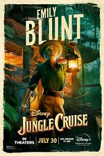 Jungle Cruise movie poster (f)   -  11 x 17 inches  -  Emily Blunt